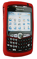 Skin Blackberry 8300 Curve Red