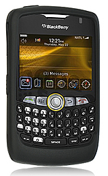 Skin Blackberry 8350i Curve Black