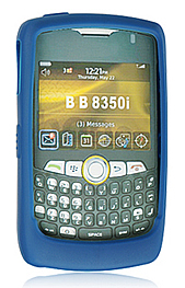Skin Blackberry 8350i Curve Blue