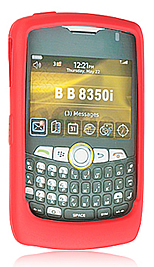 Skin Blackberry 8350i Curve Red