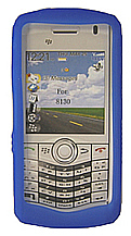 Skin Blackberry 8130 Pearl Blue
