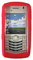 Skin Blackberry 8130 Pearl Red