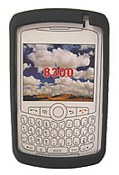 Skin Blackberry 8300 Curve Black