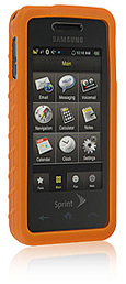 Skin Samsung M-800 Instinct Orange