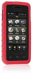 Skin Samsung M-800 Instinct Red